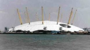 Britain's Millennium Dome at Greenwich, London.