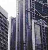 The complex forms of the Hong Kong Bank's headquarters built in the 1980s consumed vast amounts of imported material.