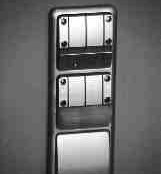 Individual office control switch.