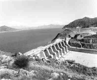 Tarbela Dam in Pakistan.