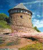 The Bath House on Minister's Island in New Brunswick is a historic and popular tour destination from St. Andrews.