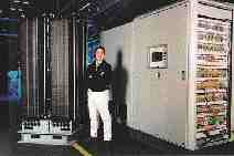 Ballard fuel cell stack installed in a prototype 250kW power plant