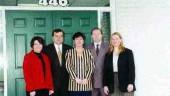 Sullo staff (left to right): Carole Gagne, Enio Sullo, Kim Beuglet, Joseph Calabrese, Lori Snobelen.