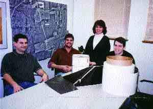 Scouten staff (left to right): Ivan Kurbatfinski, Dave Scouten, Susan DeWolf, Darren Vagt