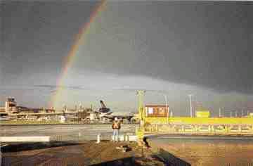Calgary Airport Taxiway Juliett.