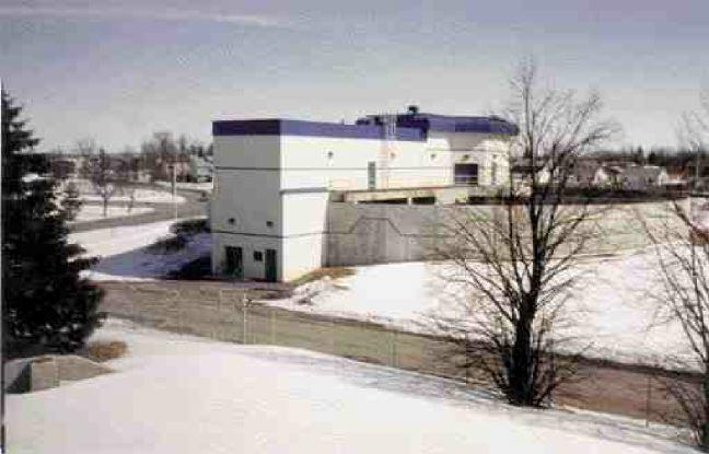 New plant mechanical building