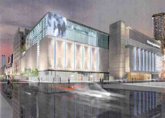 Expansion to the Palais des Congrs in Montreal.