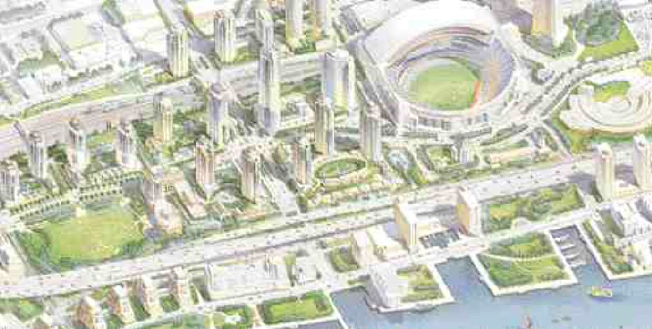 Concord Adex's development CityPlace in downtown Toronto is being wired with a high capacity fibre optic network and in suite local area networks.