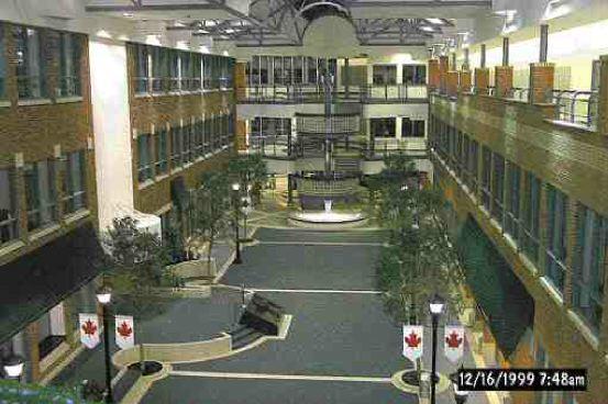 Main atrium.