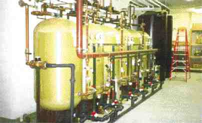 Carbon filters in six water processing units at the rehabilitation centre were replaced with filters of the material developed by ADI.