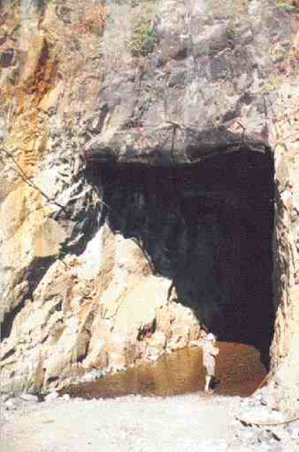 Tunnel after modifications