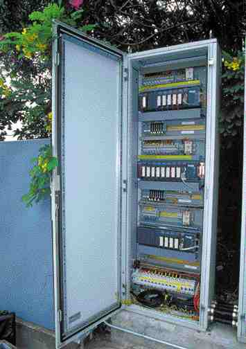 Switching cabinet.