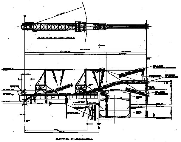 Plan view (top) and elevation.