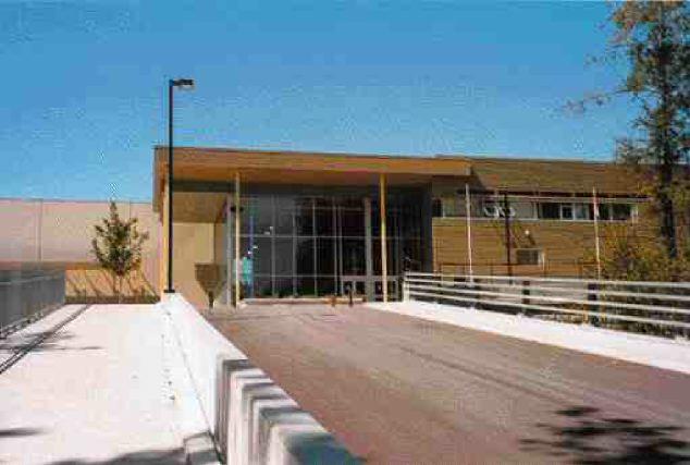 School entrance.