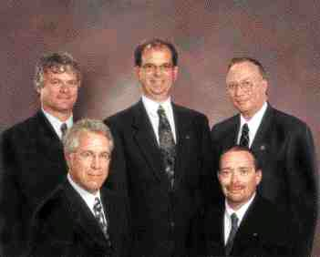 Award of Merit: ADI and Gemtec, Fredericton, New Brunswick. Back row: Hollis Cole, Dave Crandall, Daryl DeMerchant. Front row: Tim Murphy, Kevin McNulty