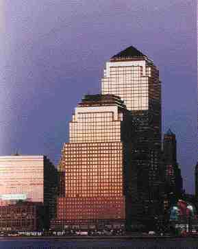 Buildings shown are all projects in which Yolles has played a role. World Financial Center, New York.