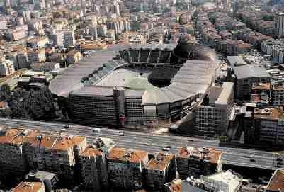Ali Sami Yen Stadium, Istanbul.