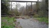 Bridge before strengthening.