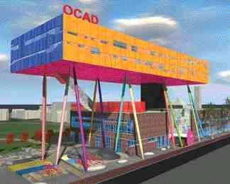 Addition to the Ontario College of Art & Design, Toronto.