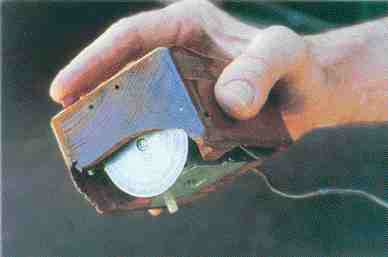 The world's first computer mouse built by Douglas Engelbart in the mid-1960s.