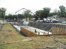 Regina's Core Area Park underground stormwater detention structure, Stantec Consulting
