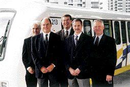 AWARD OF EXCELLENCE. Millennium SkyTrain Expansion, ND LEA/SNC-Lavalin/RPA. Meiric Preece, John Eastman, Dave Walker, Jim Burke, Bob Bowman.