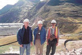 AWARD OF MERIT. Antamina Tailings Facility, Golder Associates. John Gadsby, Don Welch, Terry Eldridge.