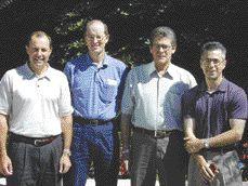 AWARD OF MERIT. Red Dog Mill Optimization, AMEC A&C. Bob Stanlake, George Hope, Glen MacLellan, Steve Ciccone.