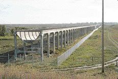 Brooks Viaduct, Saskatchewan, 1914. Hugh B. Muckleton, engineer. From the Industry Canada website.