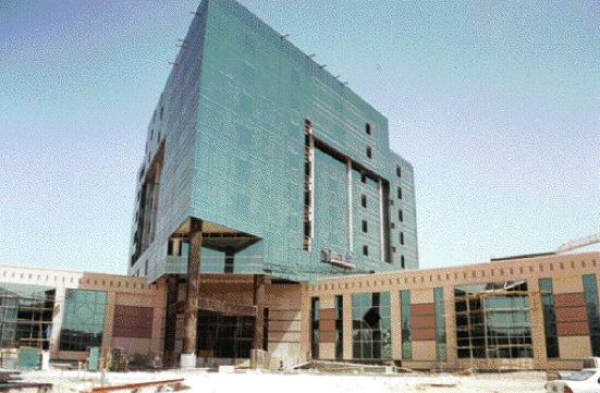 Emirates Center for Strategic Studies and Research, and roof with triple glazed skylights.