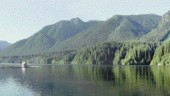 Capilano Reservoir, B.C., water source for Vancouver.