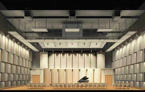 Rendering of new concert hall.