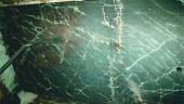 Crack pattern in second floor slab