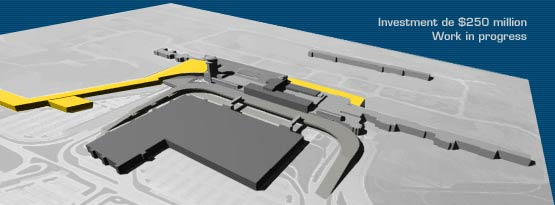 Transborder jetty expansion at Montreal-Dorval