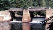Finlayson Dam, Algonquin Park, Ontario before decomissioning by Acres.
