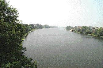 Canal on the 2,200-kilometre drainage network.
