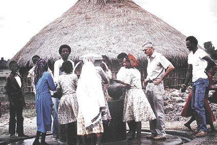 Ainley in Ethiopia.