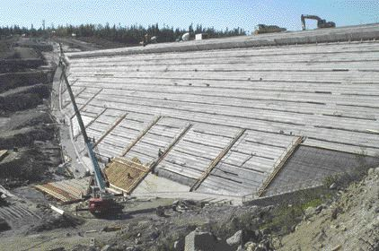 The $454-million new Grand-Mre hydroelectric project north of Trois-Rivires is one of several large projects Hydro-Qubec has under construction. Tecsult of Montreal is lead consulting engineer.
