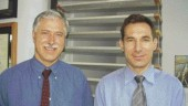 AWARD OF EXCELLENCE. Central City Timber Structures, Vancouver. Fast + Epp. Left to right: Gerald A. Epp, Zelimir Anic.