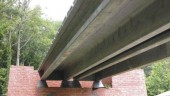 Test bridge using the fibre-reinforced cement composite Ductal at the U.S. Federal Highway Administration's Turner Fairbanks Research Center in Virginia. Source: FHWA