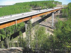 CNRL Horizon Access Bridge, Fort Mackay.