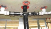 Tested and listed cast-in-place firestopping.