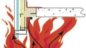 Fire and perimeter construction joints. Image courtesy Thermafiber.