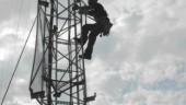 staff safety was a priority for the consulting engineers, whose role included design and construction management of the wireless network stations.