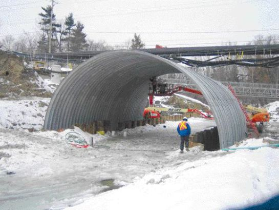 New bridge under construction.