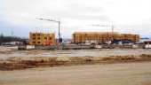 Housing construction in Fort McMurray.