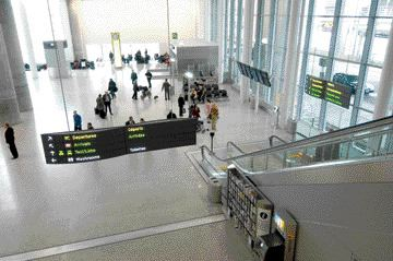 Toronto Pearson International Airport is guarded by 1,500 security cameras. GTAA