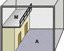 rules on mezzanines have been changed including now permitting the enclosure of the space beneath the mezzanine.