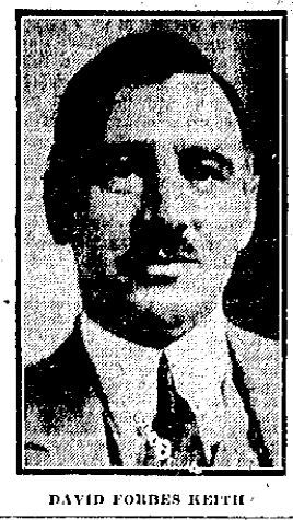 Archival photograph of Keith from the Toronto Daily Star, 25, October 1929
