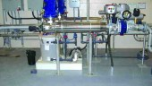 Trojan TechnologiesUltraviolet (UV) disinfection reactors with a chemical clean in place system at Havelock, Ontario.